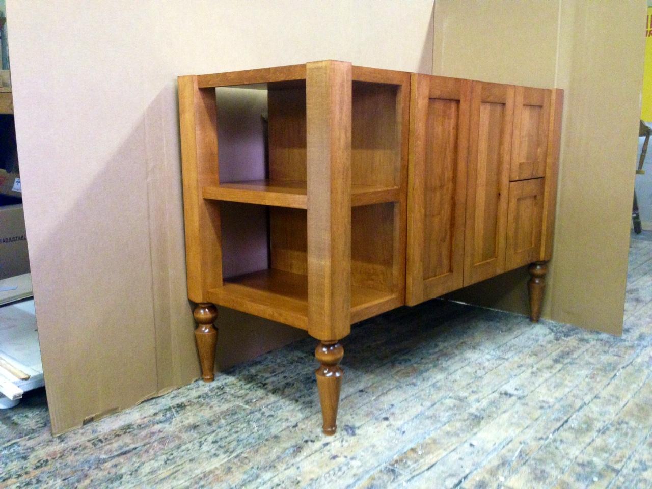 Maple Stained Open shelf 2.JPG