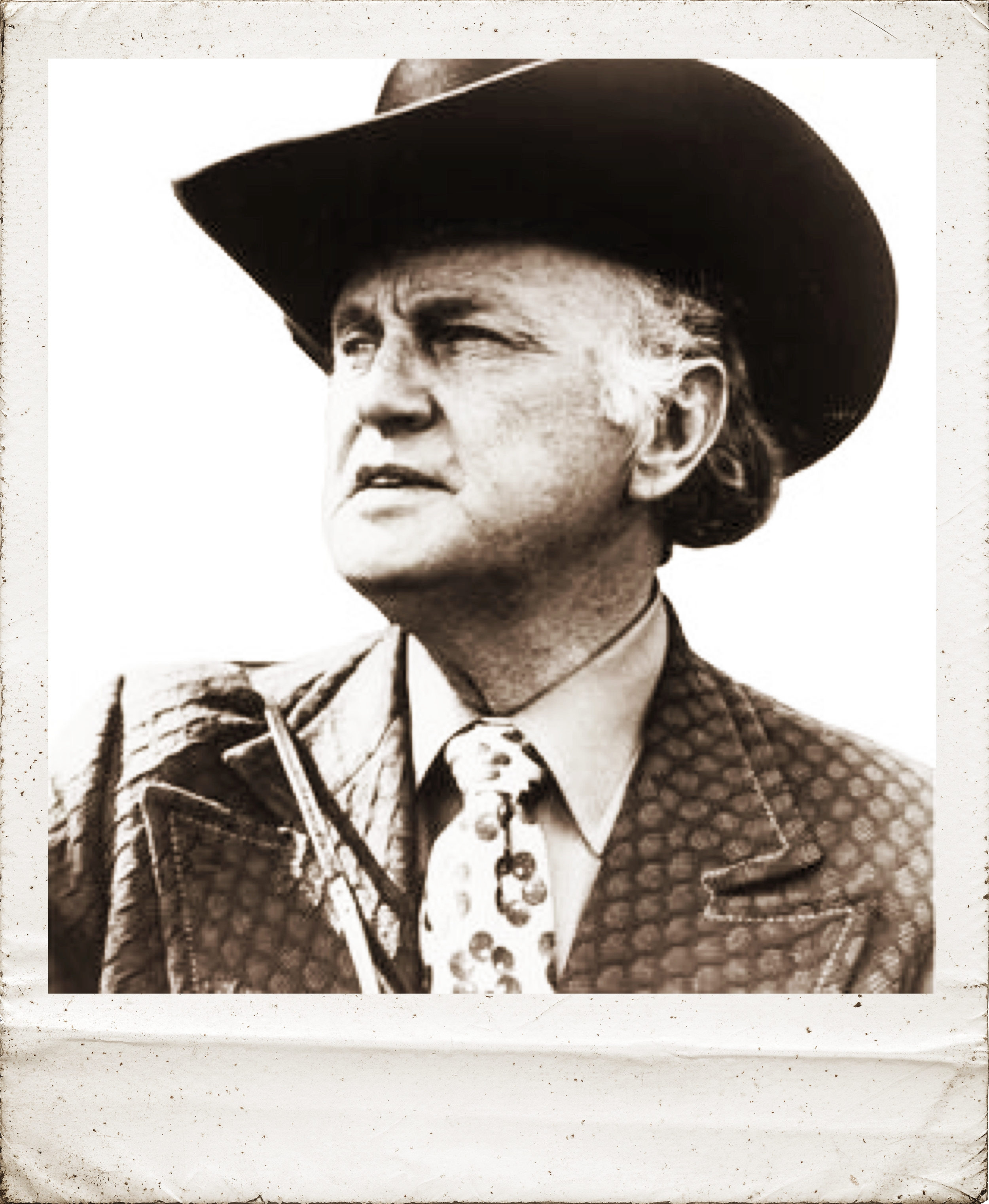 Undisputed Father of Bluegrass Bill Monroe - ...started the Monroe Brothers, the precursor to the Bluegrass Boys, while working at an Oil Refinery in East Chicago.