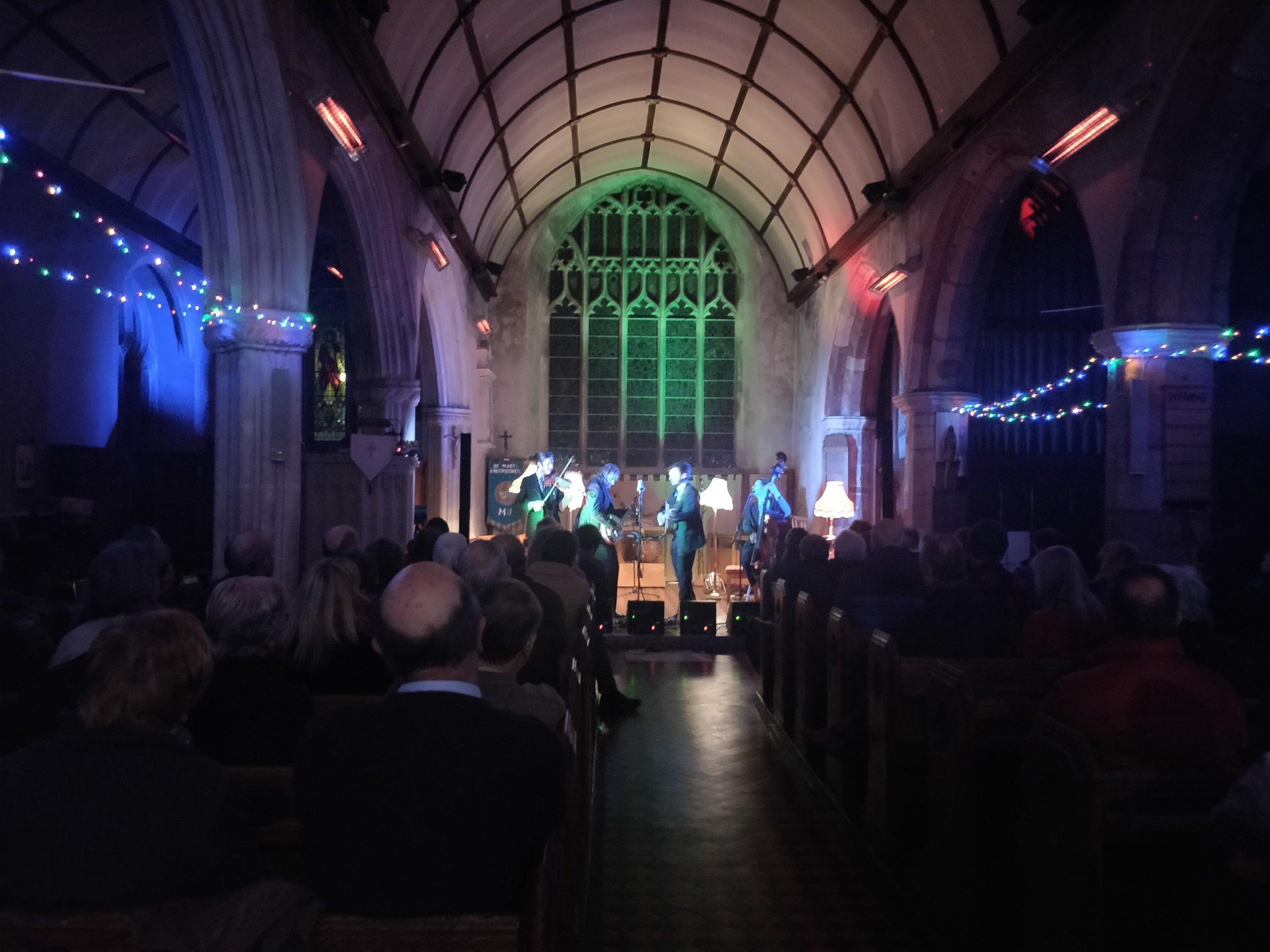 Kingkerswell Church in Devon, UK -