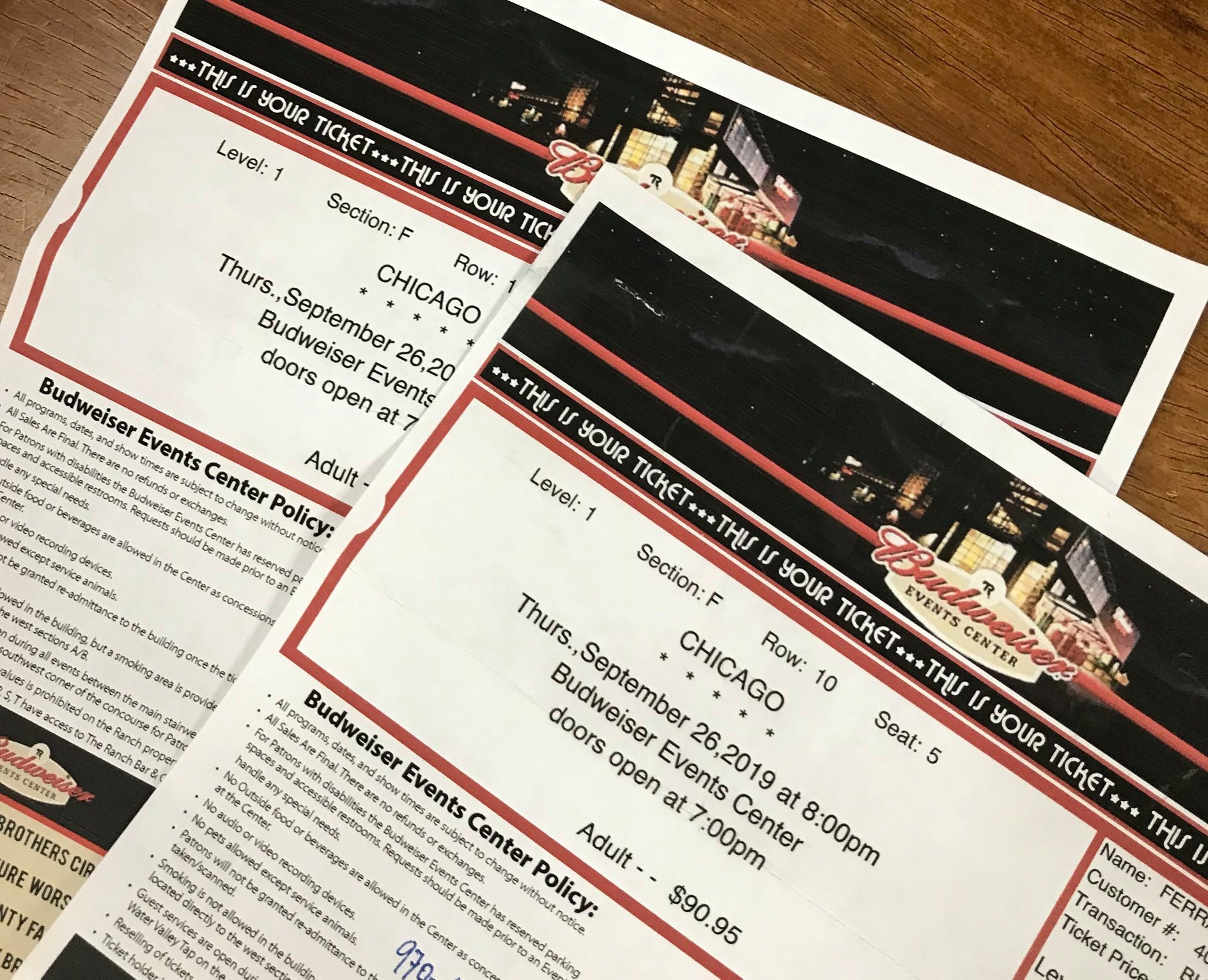 Woohoo! Enter to win these tickets!
