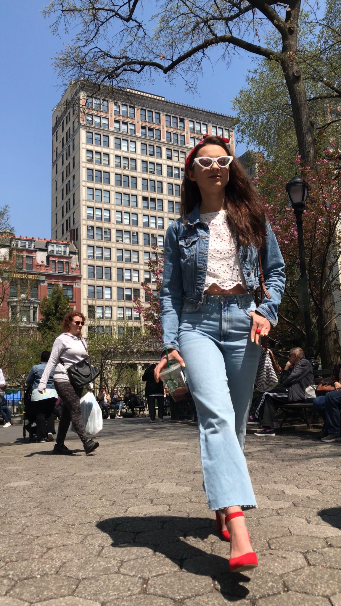Union Square Park, where you will find me most.