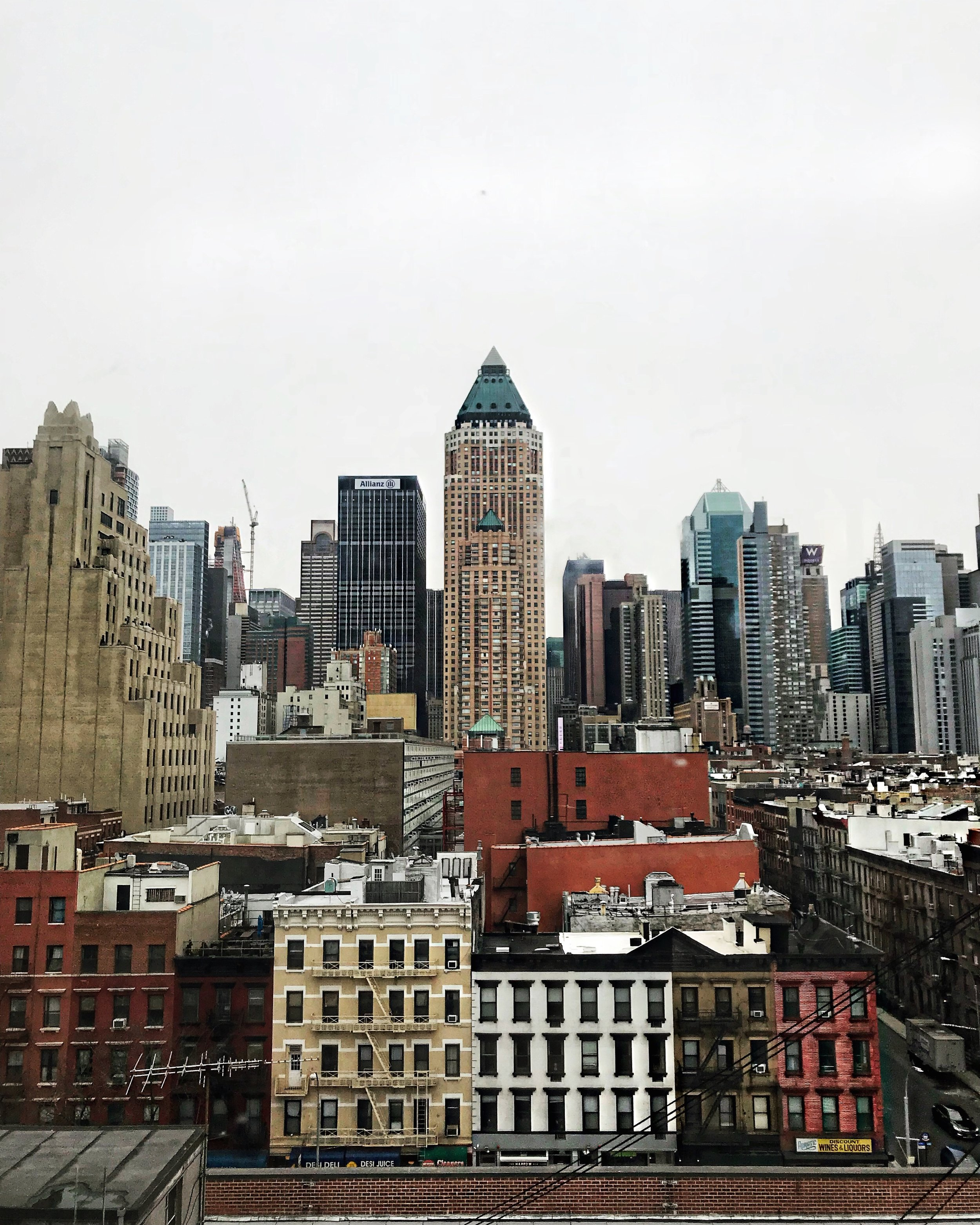 The view from the building where NYFW event happened.