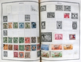 ORGANIZED STAMP COLLECTIONS