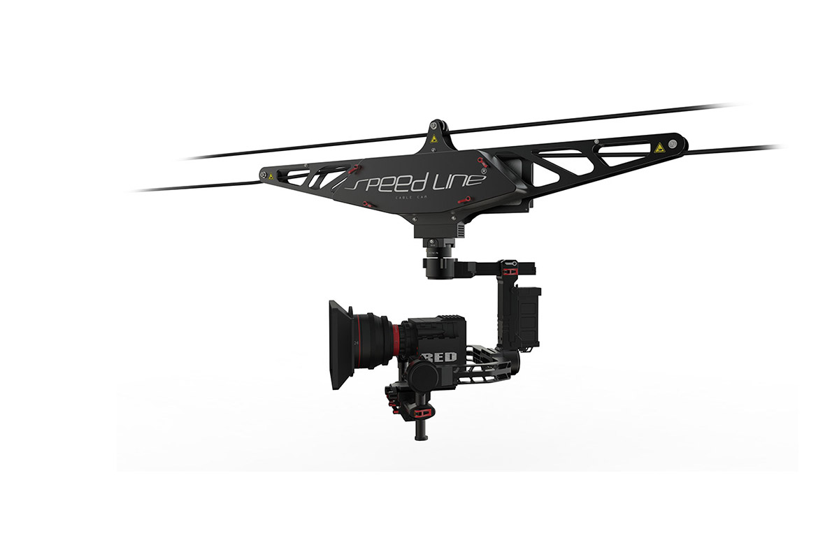 the cable cam  is the ultimate tool for the most dynamic looking video shots in difficult terrain where a drone is not possible. Our Systems are custom made for  DJI Ronin m camera stabilizer.   Payload up to 10kg  gives you enough capacity for most Gimbal and Camera combinations, all while operating fast and silent. its all remote controlled and has a  maximum length of 120 meter s.  its ideally used for concerts and sports in and outdoors