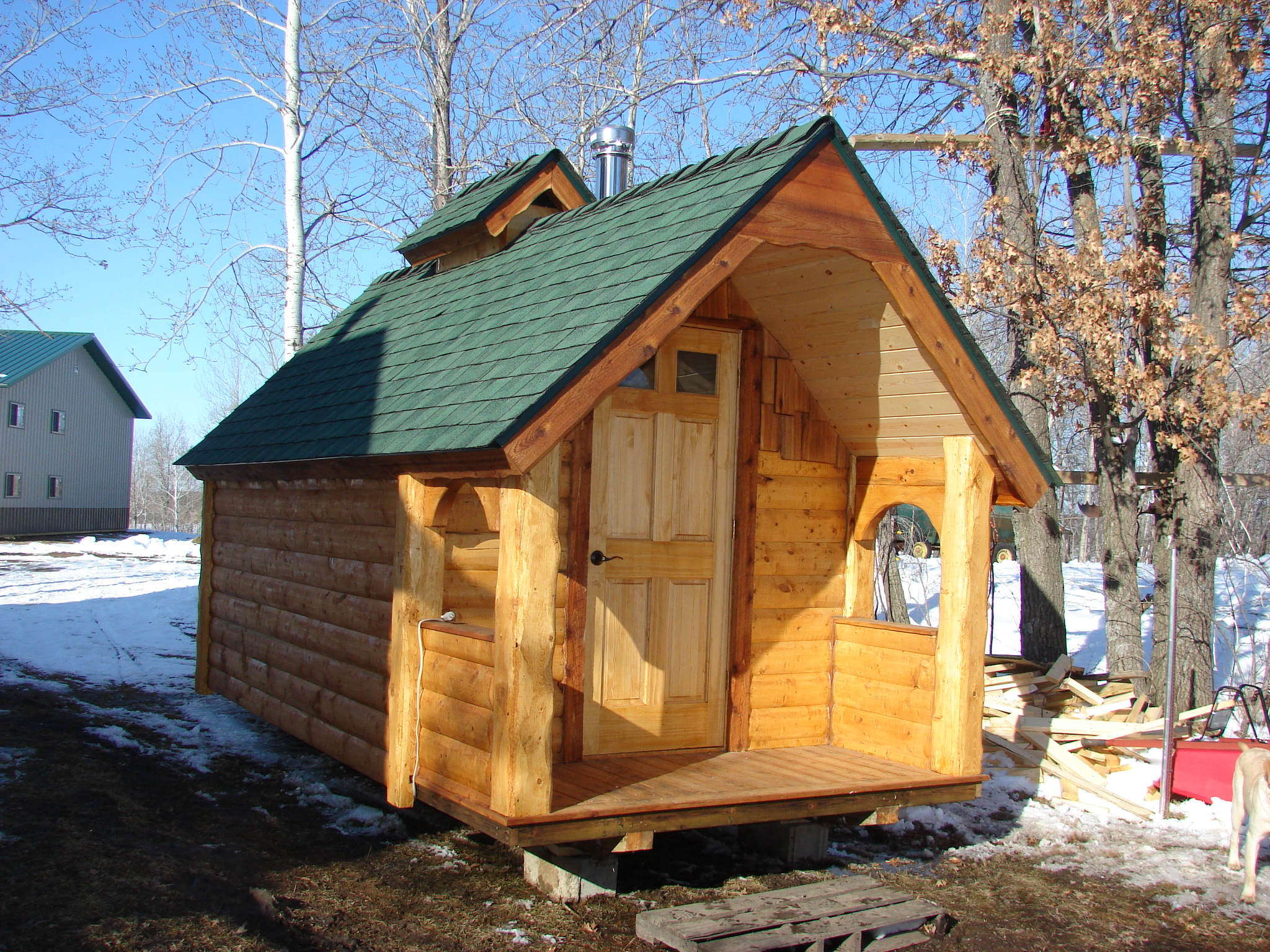 SAUNAS                                           CUSTOM BUILT TO YOUR SPECIFICATIONS