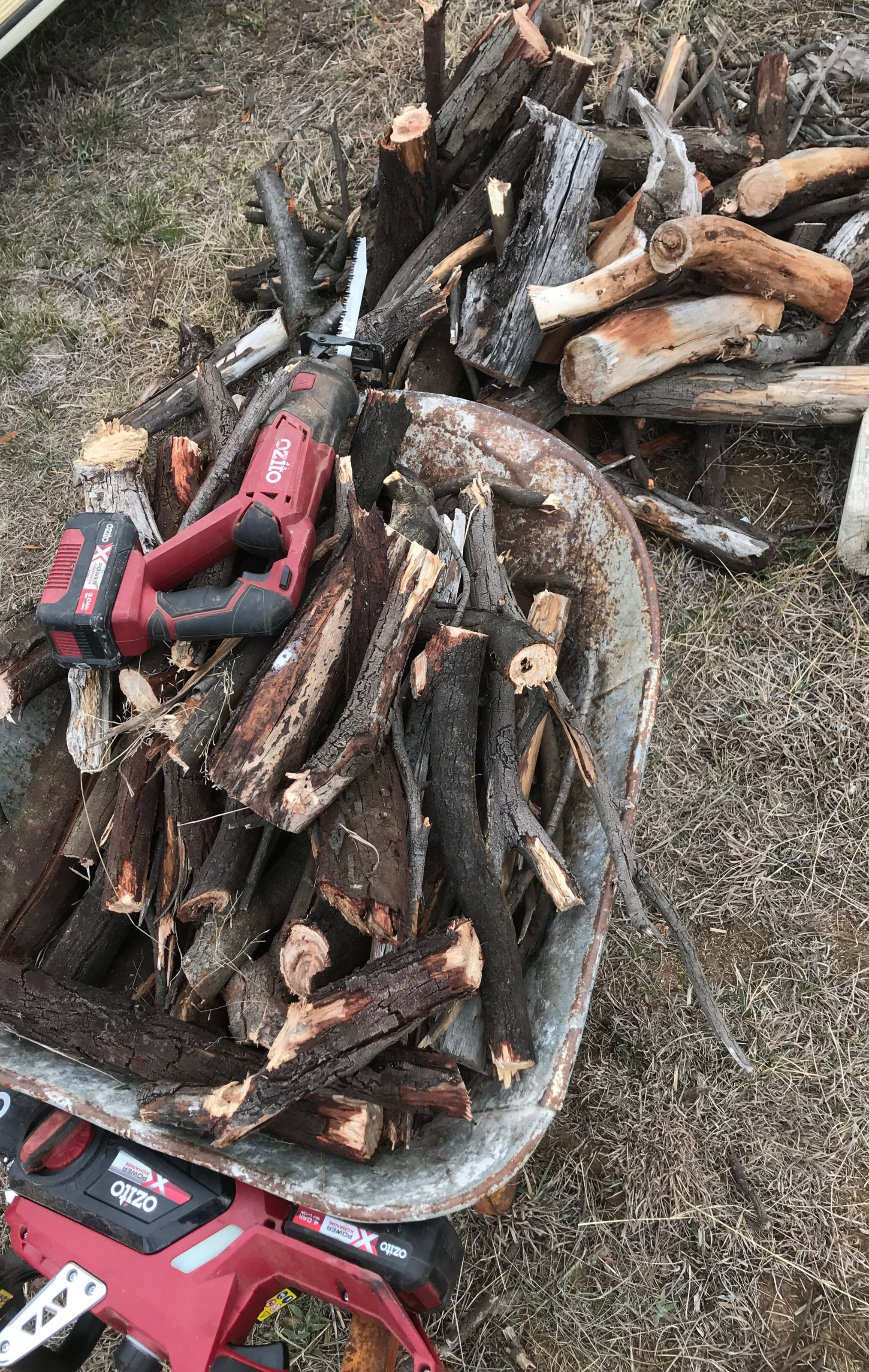 Just another variable to absorb in the problem solving process - firewood!