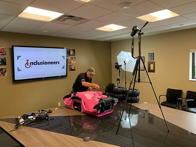 Engineers for Inclusion - If you're an engineer or an engineering student, you NEED to check out this non-profit organization in Akron, Ohio🙌🏼 - The Inclusioneers is an amazing organization focused on providing infinite amounts of value to children with disabilities via their mission of adapting toys specifically to their needs. - Apex Communications is PROUD to be supporting them in whatever way we find possible. - #Inclusioneer #Engineers #CerebralPalsy #AdaptACar #America #Motivation #Love