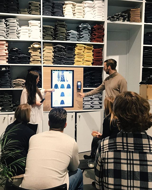 Today we met the staff at @adaysmarch to discuss the best ways to use Vendo in their daily workflow at their stores.