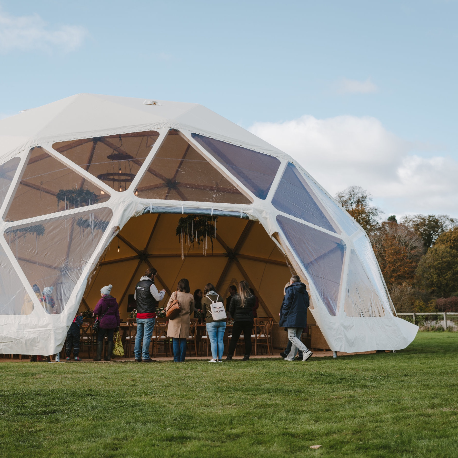 Event in a Tent -