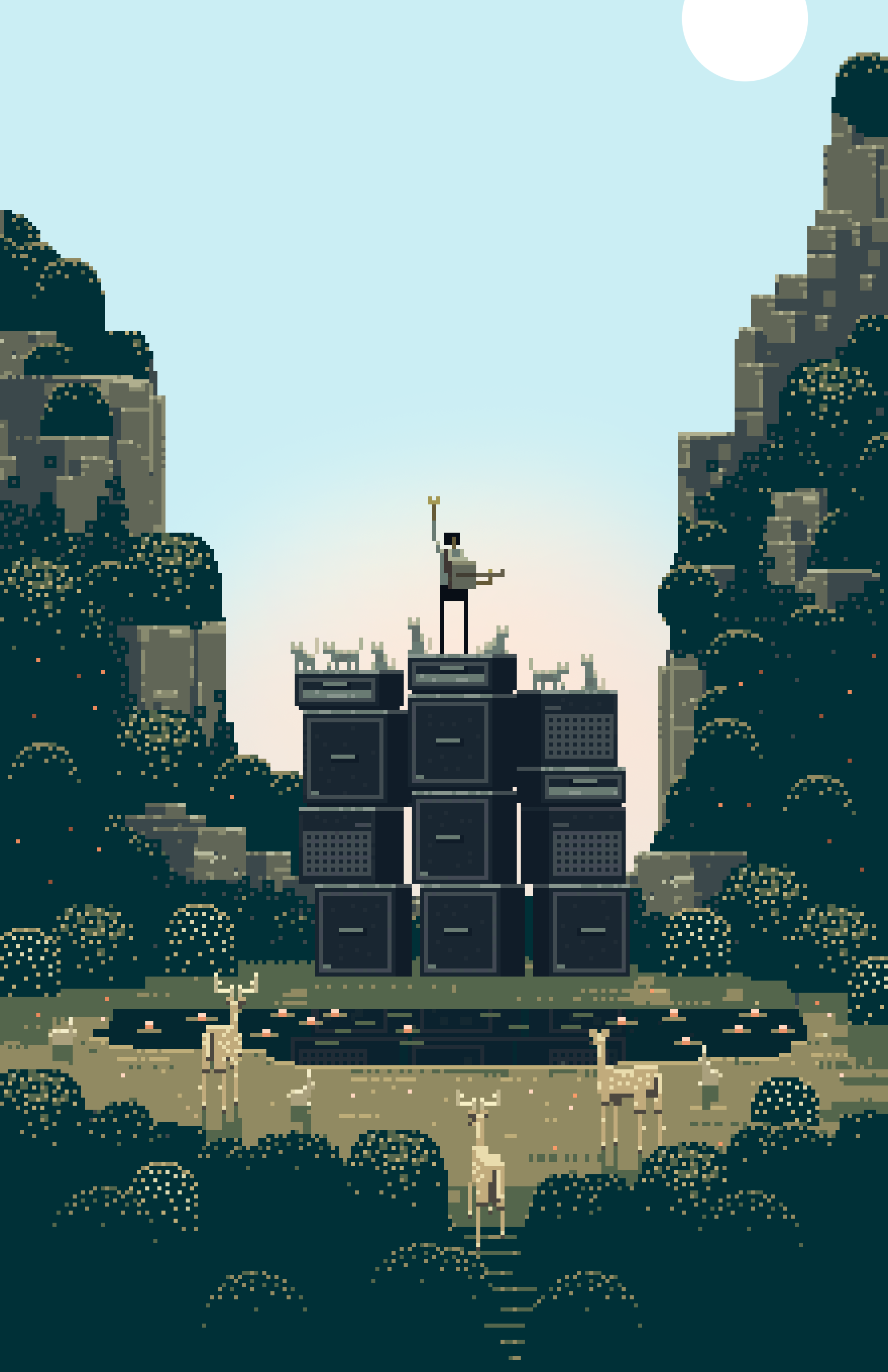 From the Indie Video game (2011)Superbrothers: Sword & Sworcery