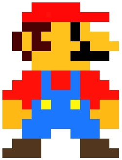 From the video game Mario in the 80s