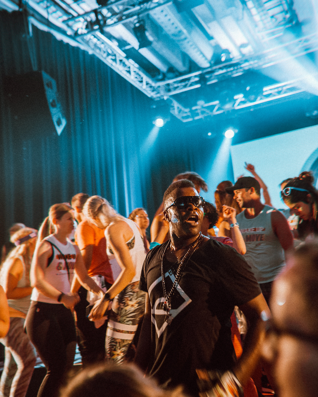 ◎ Photos from the Zalando X Reebok Daybreaker event I took part in Stockholm