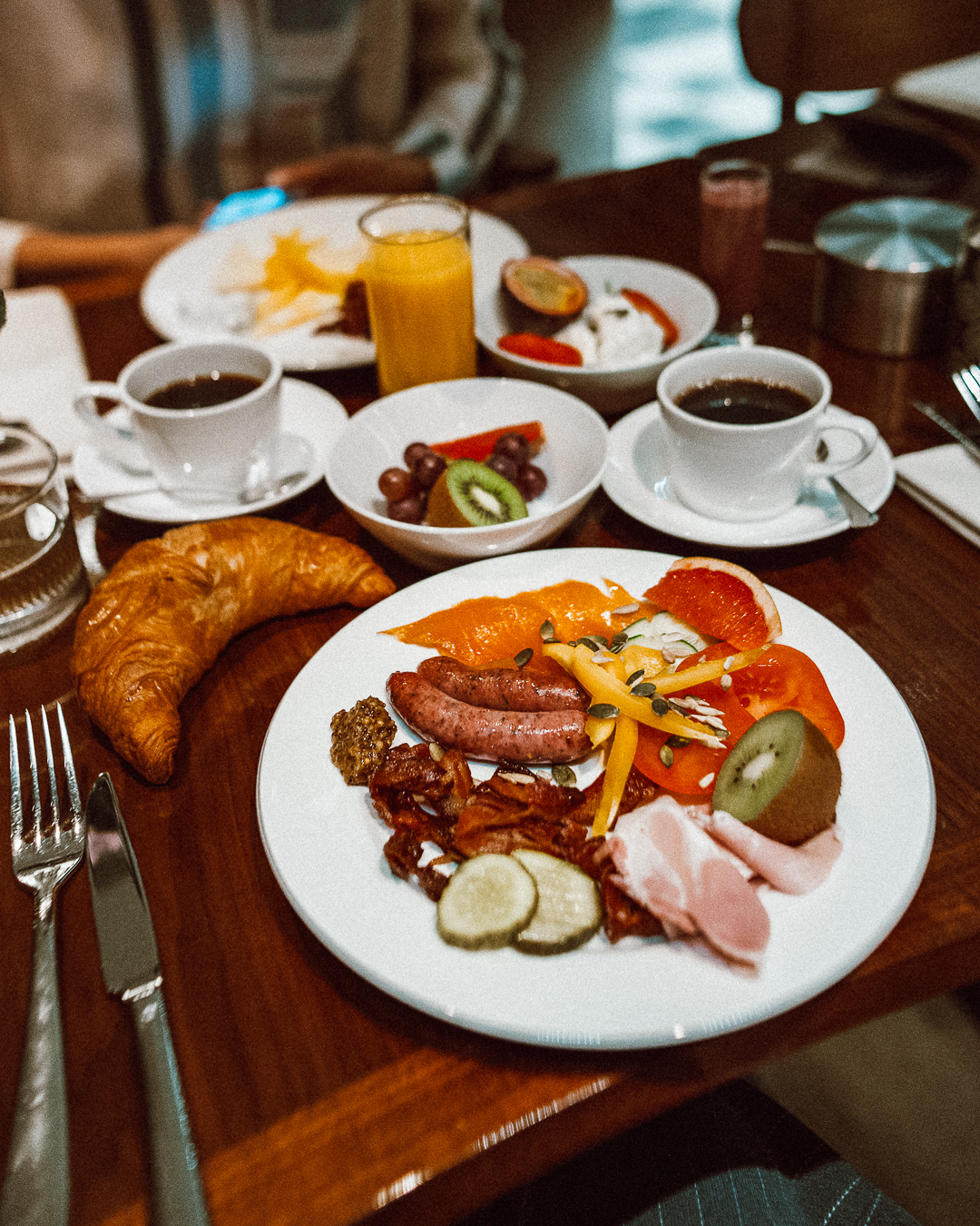 ◎ The lamb sausage was my favourite part of the breakfast
