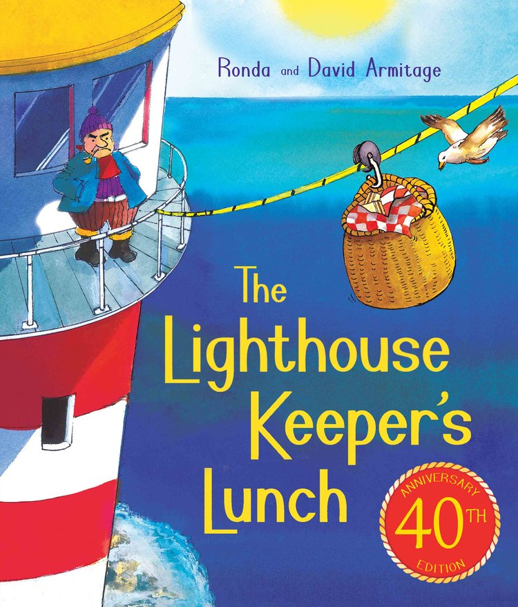 In print 40 years - The Lighthouse Keeper's Lunch.