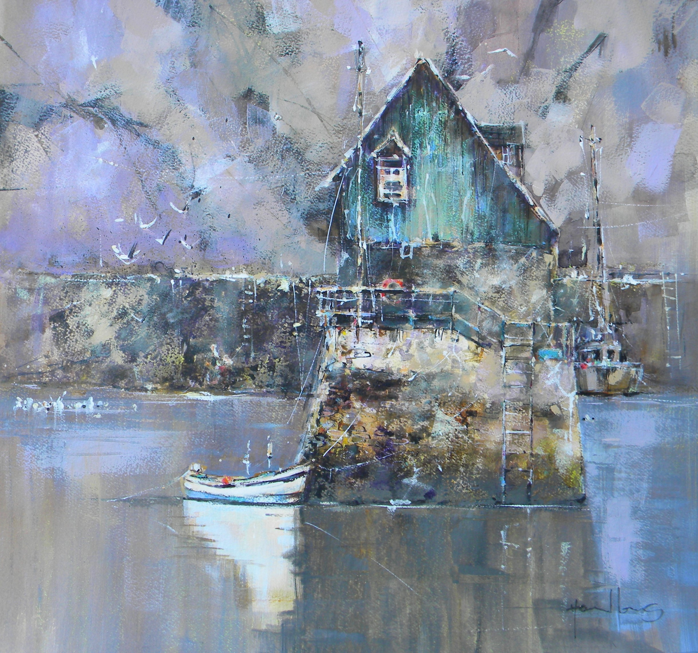 """White Boat Mevagissey"" - For Sale"