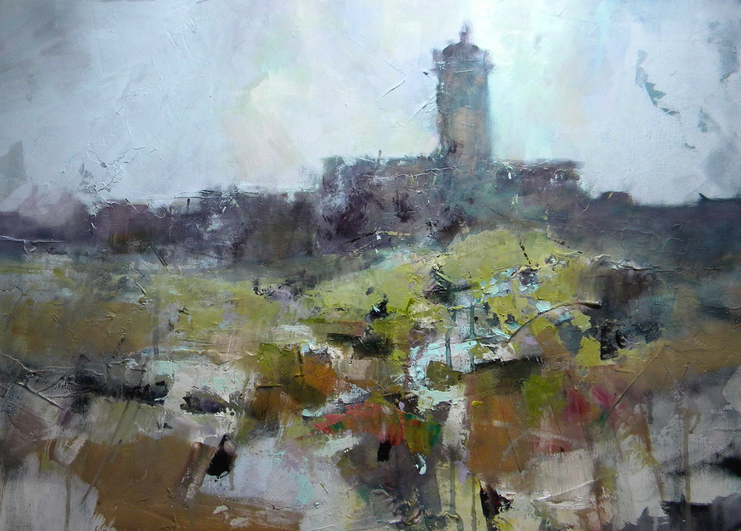 - Where does the time go? As a marker to being half way through the year I thought I'd publish a painting undertaken in June (Two years ago) of this fascinating building.