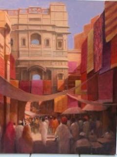 """Jaisalmer 27"""" x 20""""  £3,950"""