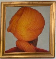 """Saffron 24"""" x 24""""  £4,250"""