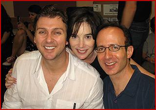 Ed Kessel with Director/Choreographer Warren Carlyle & Composer/Writer Jill Santoriello