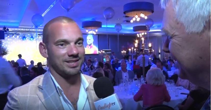 uitreiking Sportpenning Stad Utrecht Wesley Sneijder