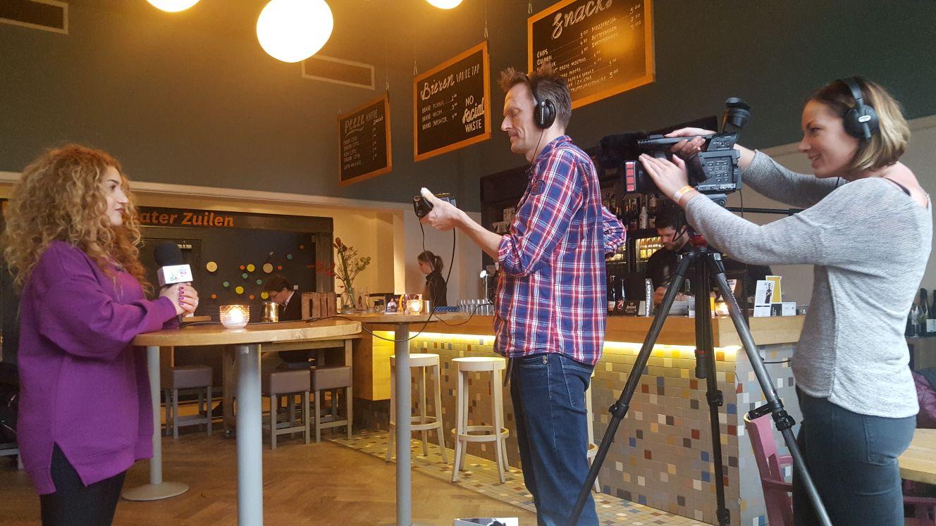 RTV Utrecht maakt reportage over U in de Wijk in Zuilen