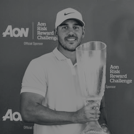 """A word from the sponsor - At Aon, we use proprietary data and analytics to advise our clients and provide the insights they need to stay a step ahead of the competition. The same is true in golf, where players must take calculated risks that improve their performance."""" - Greg Case, Chief Executive, Aon"""
