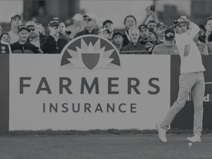 "A word from the sponsor - ""At Farmers, we've seen a thing or two over our proud history and have come to know from our experience with the PGA TOUR that our sponsorship of the Farmers Insurance Open makes sense for our customers, our brand and the many charitable organisations that are helped as a result of the tournament.""Mike Linton, CMO - Farmers Insurance"