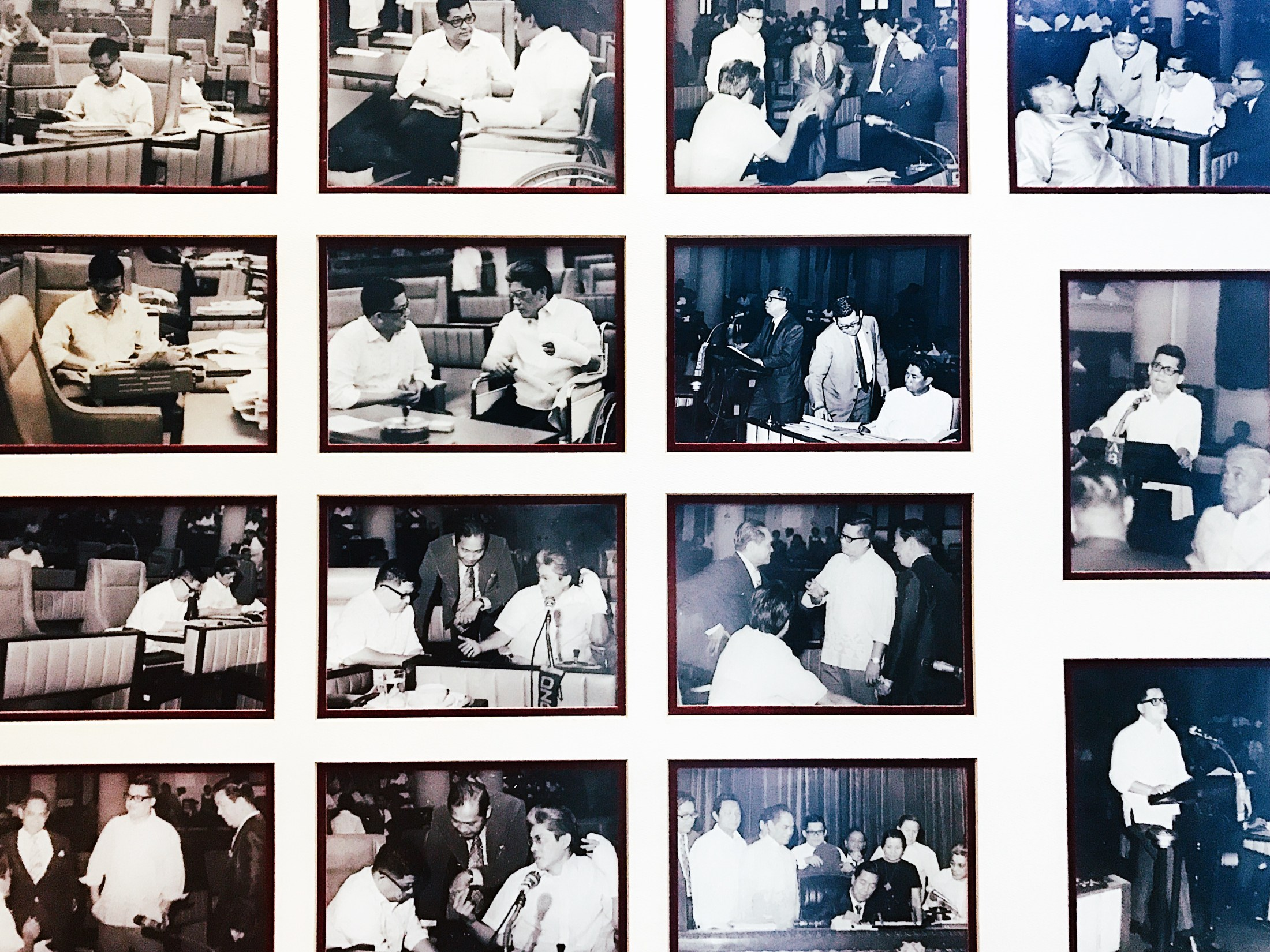 Photos from the time Ninoy Aquino was still alive.
