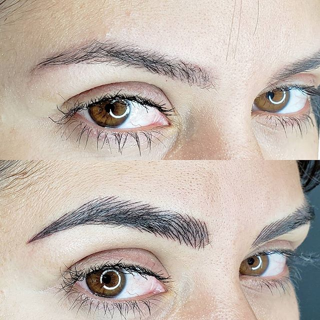 🔴 Layered eyebrows done with machine it means less trauma to the skin , less invasive and longer lasting. . For appointment ☎️ : 1(978)457-3403 .... . #beforeandafter  #eyebrow #perfecteyebrows #permanentmakeup #eyebrows #instaeyebrows #beverlyhills #instamakeup #beautiful #miami #eyebrowsdone #tattoo #eyebrowgame #eyebrowgoals #eyesmakeup #permanentmakeup #lookatthatface #eyebrown #eyebrowsonpoint #microblading #microbladingeyebrows #microbladingmiami #microbladingboston #microbladingbrows #blonde #blondehair #microbladingbeverlyhills #pmu