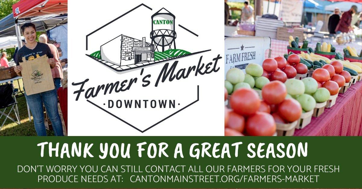 Farmer S Market Canton Texas Main Street Program