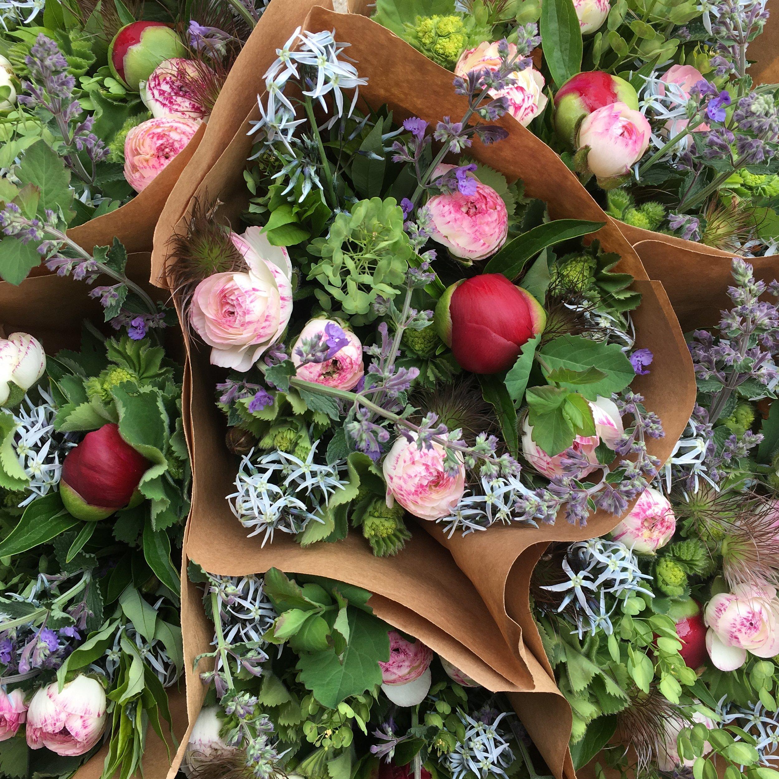 June market bouquets.JPG