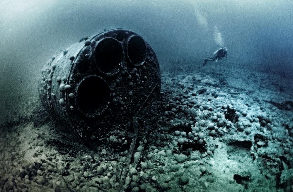 Wreck of the Caraquet, Bermuda