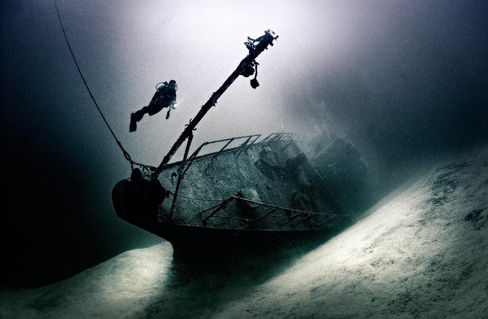 Wreck of the Russian Frigate 356, Cayman Brac