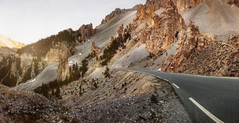 The Col d' Izoard.