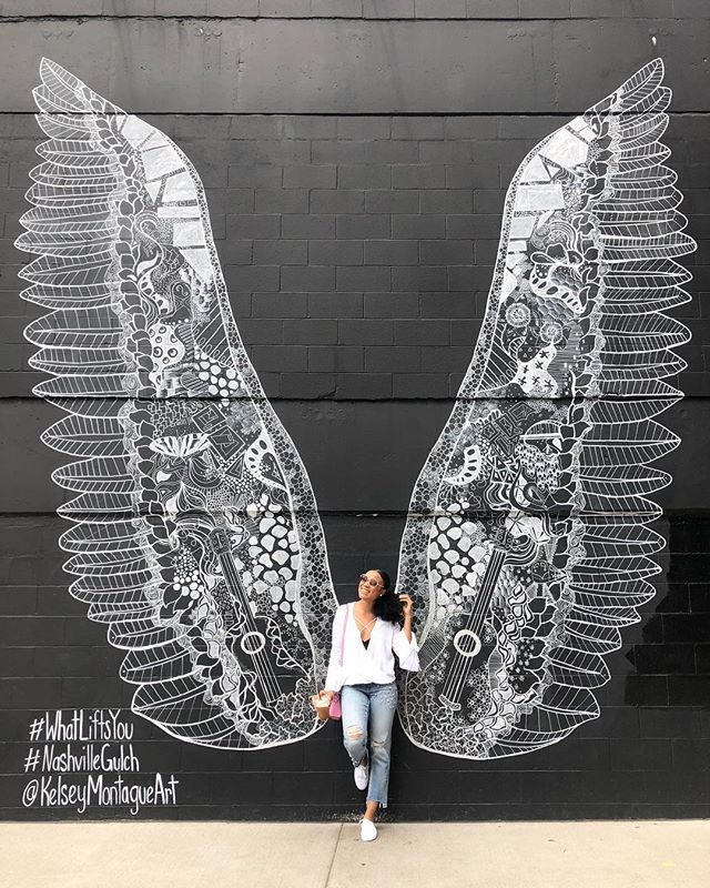 nashville gives you wings. 🦋