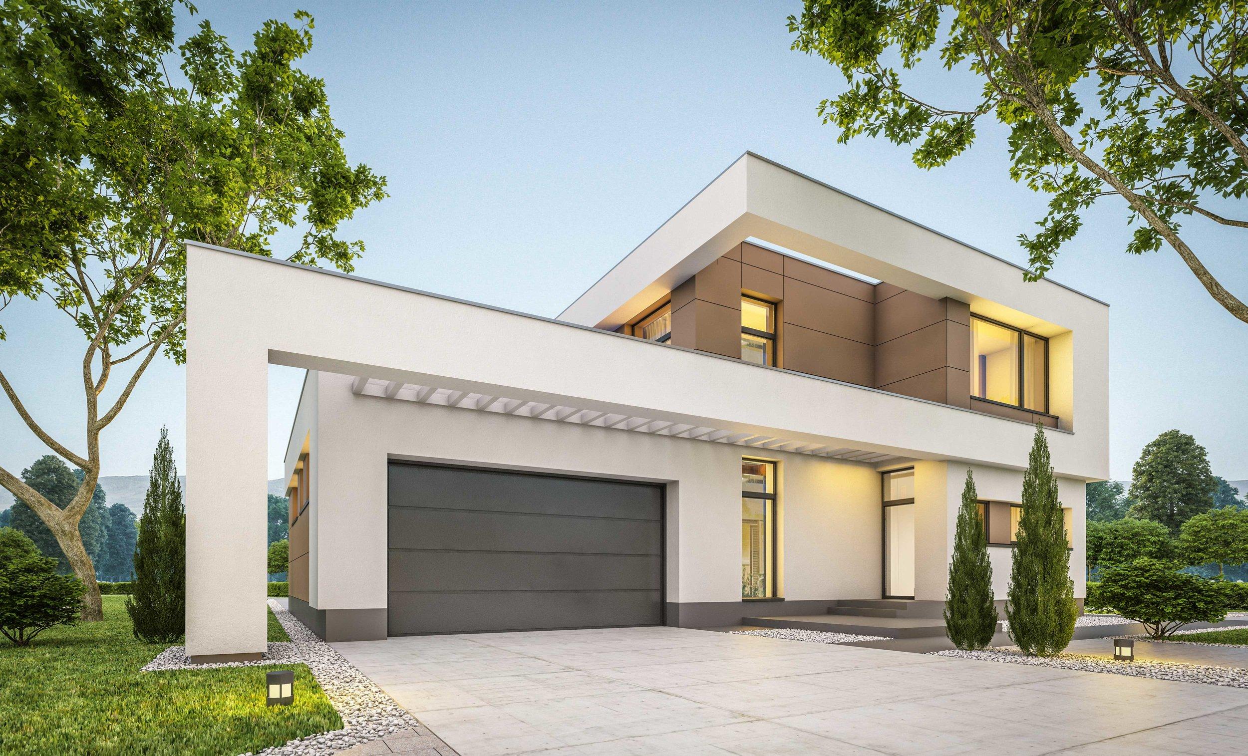 Architectural Style Modern-Art Deco