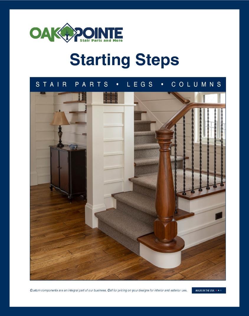 Oak Pointe, Starting Steps