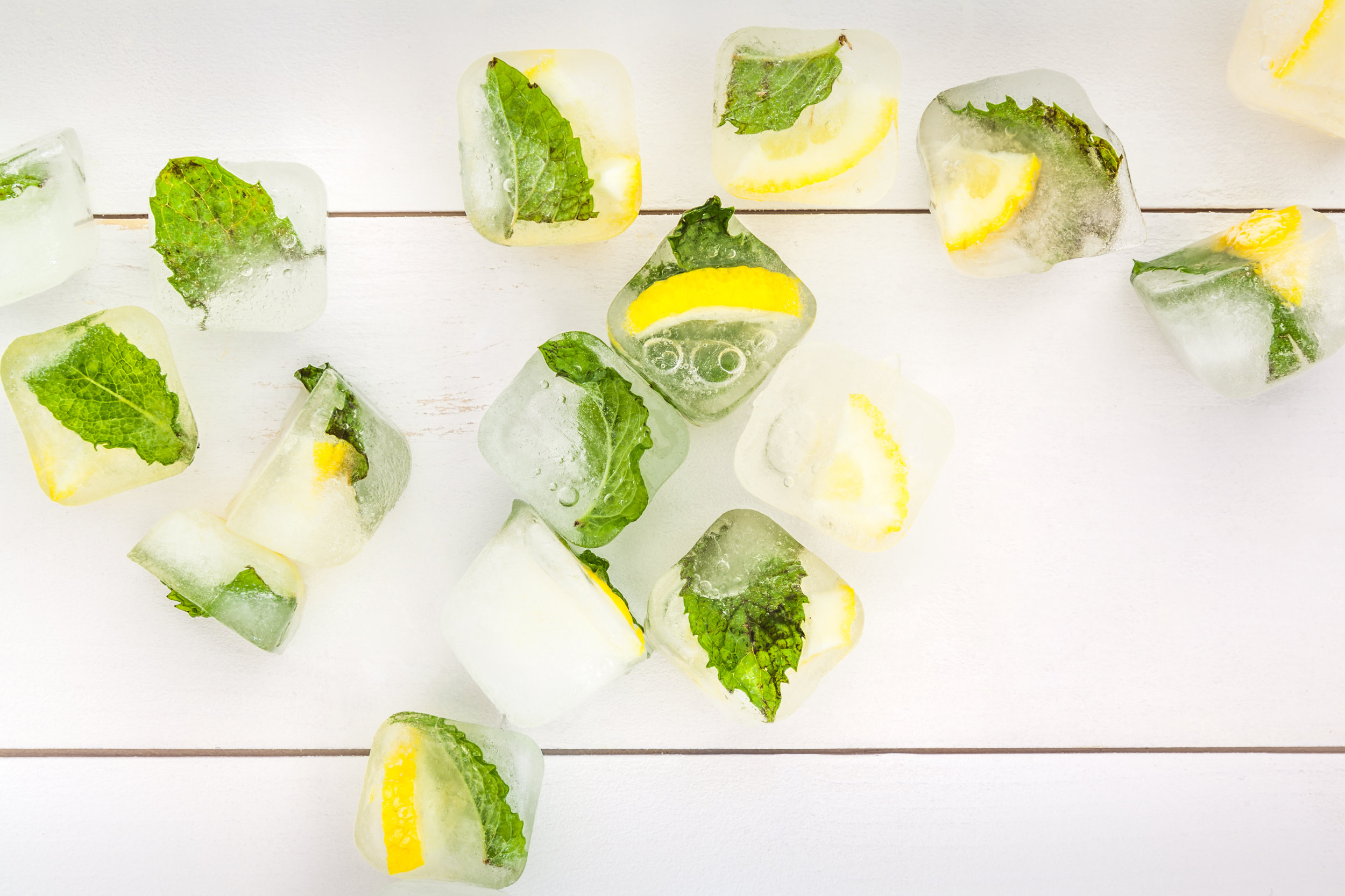 lemon and mint ice cubes.jpeg