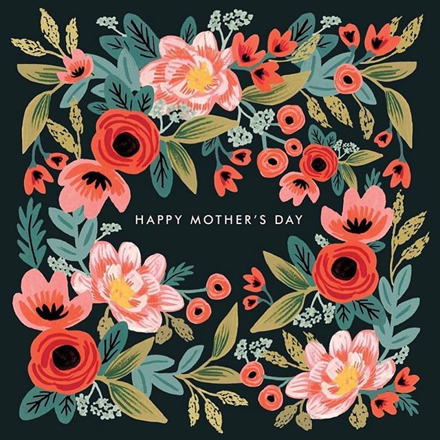 To all the moms...thank you for all you do, today and everyday. Happy Mothers Day! Hope it's pure love and magic.