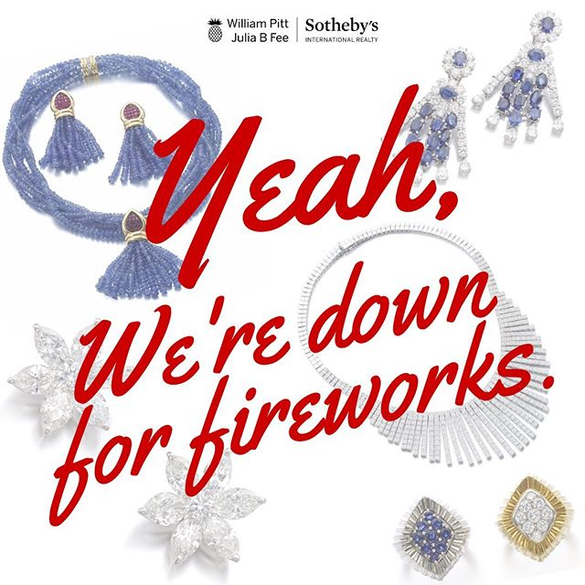 There's still time to investigate some SERIOUS sparklers. The #sothebysjewels online auction is ON — bidding closes July 5th. 🎇🎇🎇 . . . #shineonyoucrazydiamond #america #july4th #fourthofjuly #jewels #gems #sothebys #diamonds #jewelry #cartier #vancleefarpels #bvlgari #chaumet