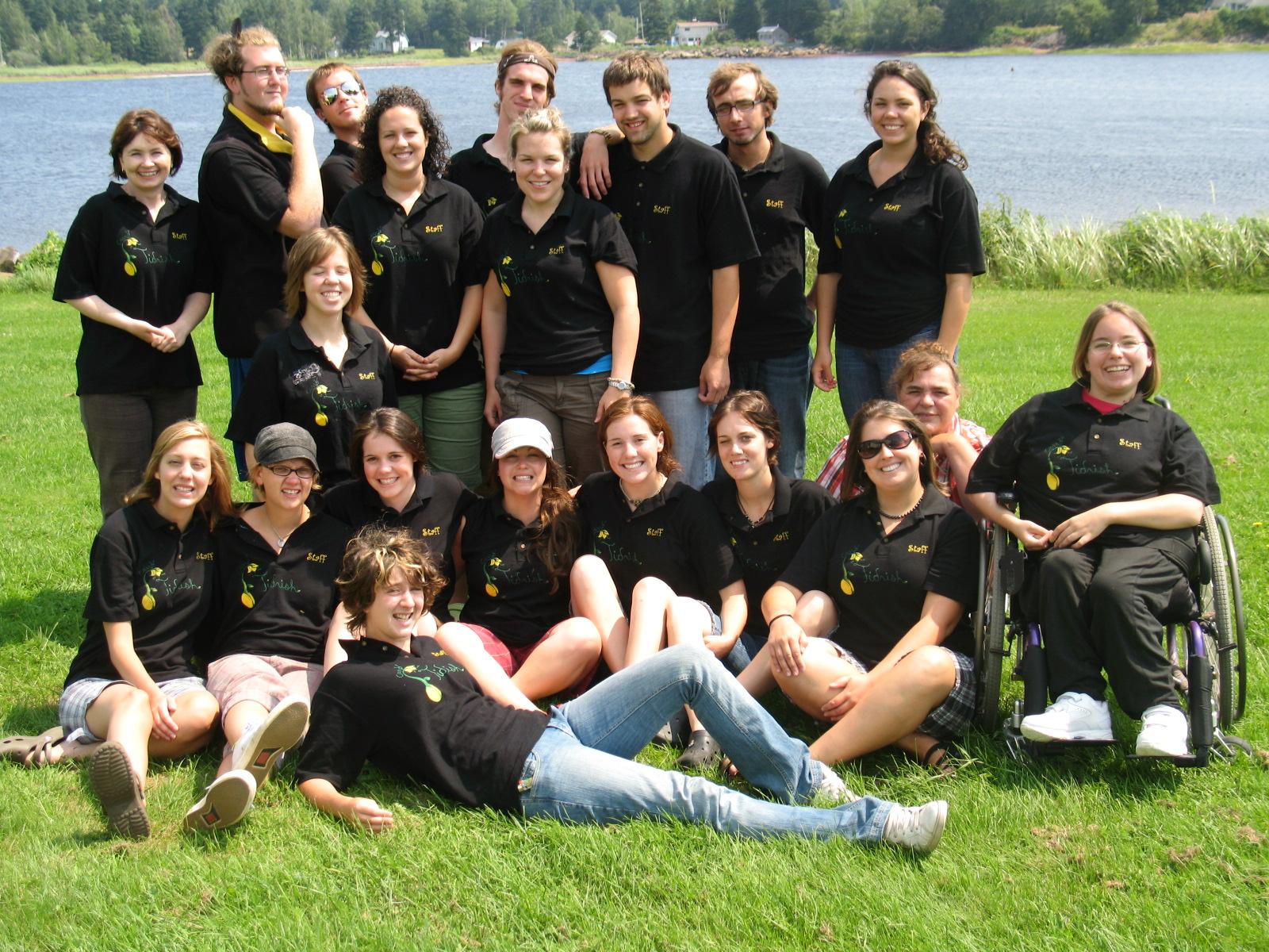 Camp Tidnish Staff 2009