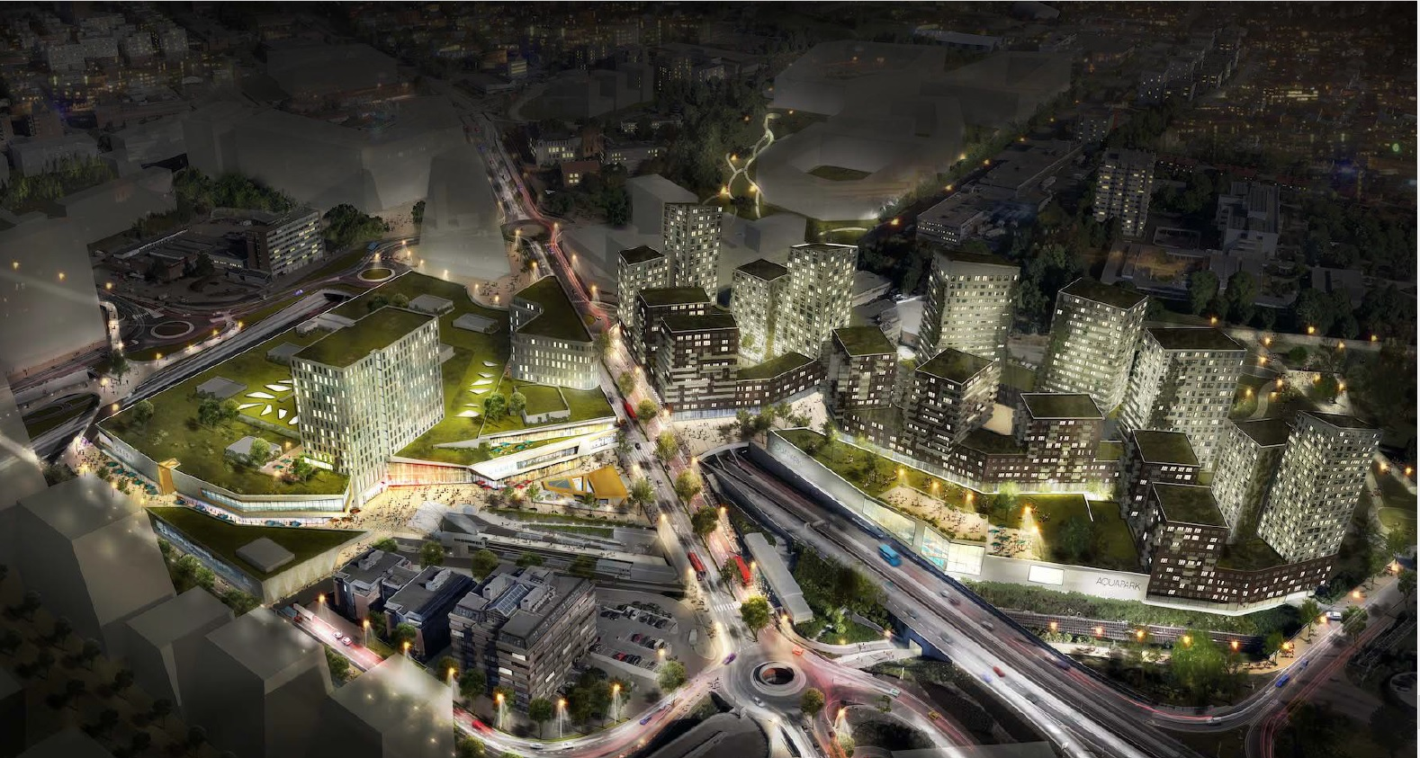 ØKERN SENTRUM   Holistic city centre development with focus on all city life functions and connections to surrounding projects.  Advisory - Einar Kleppe Holthe  okernsentrum.no