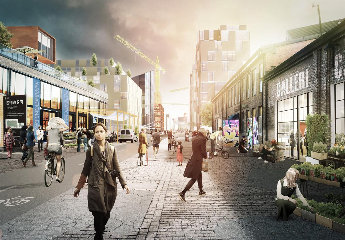 KABELGATA KULTURFABRIKKER   A programming strategy for 2000 square metres of vacant industry space with a focus on cultural place making and place branding.  Advisory - Einar Kleppe Holthe  kabelgata.no