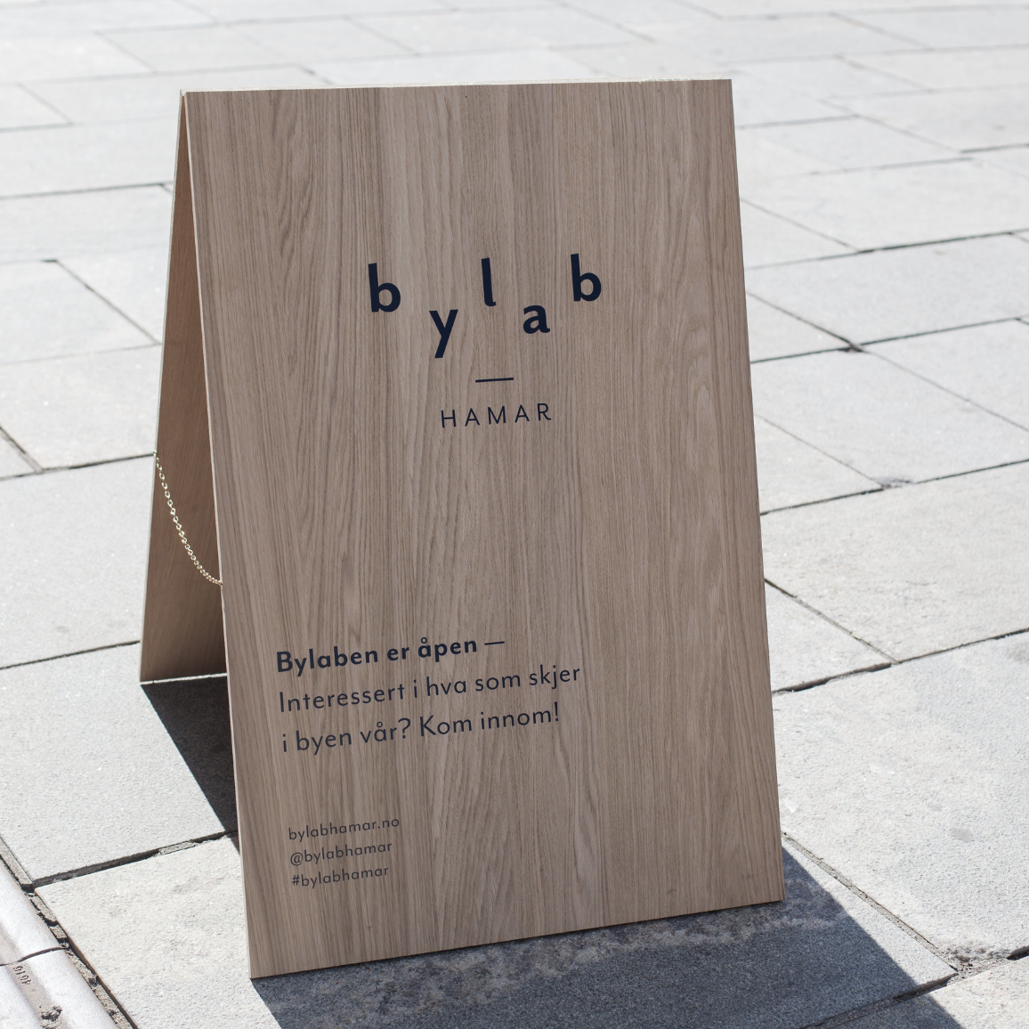 BYLAB HAMAR   A citylab for the municipality of Hamar. Functioning as an involvement and communication platform for development projects in the region, also as a part of the activation strategy of the city center of Hamar.  Advisory — Einar Kleppe Holthe  bylabhamar.no