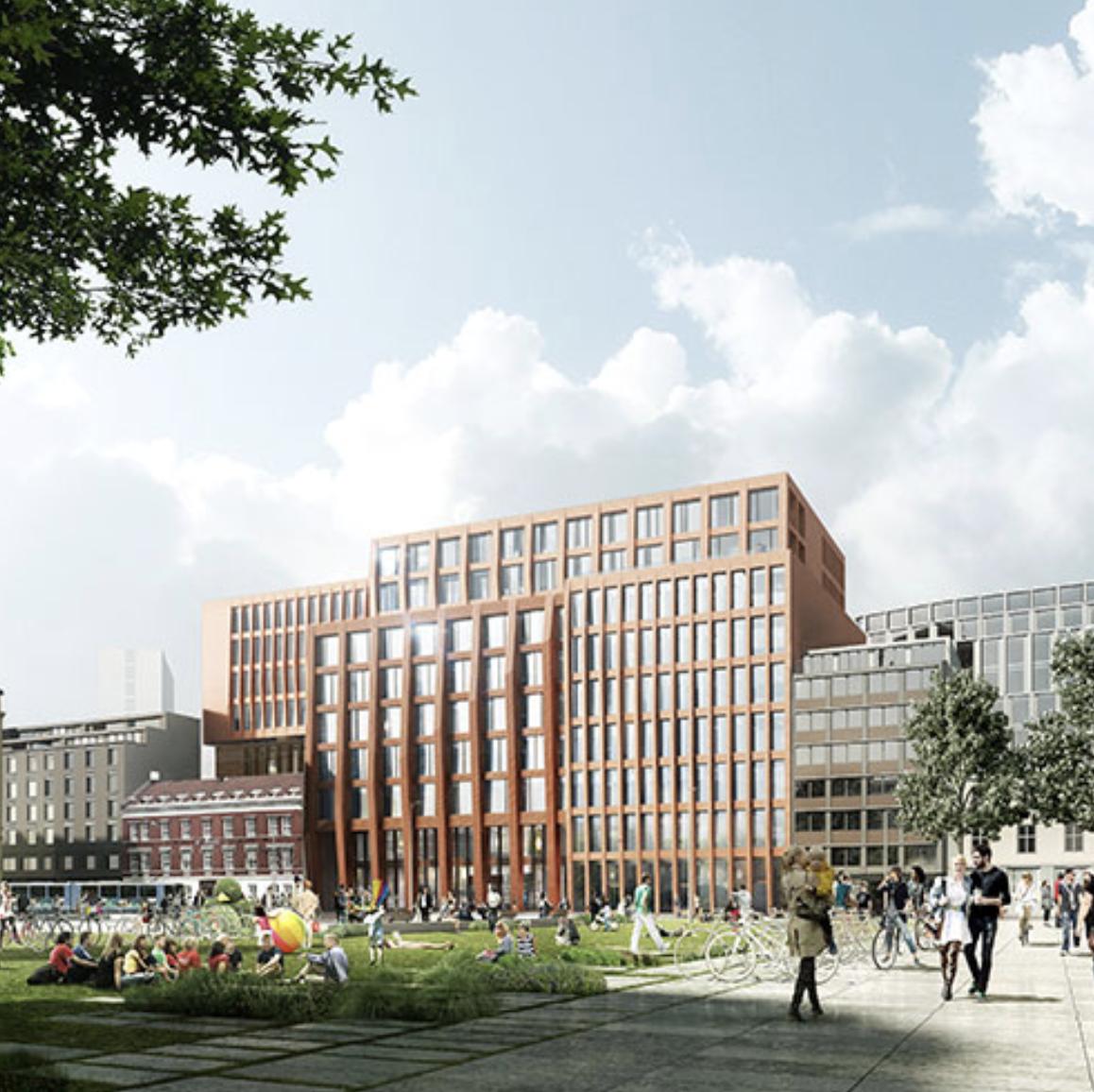 TULLINLØKKA K11 — ENTRA   Creating a landmark with an identity for the development of Tullinløkka.  Advisory - Einar Kleppe Holthe