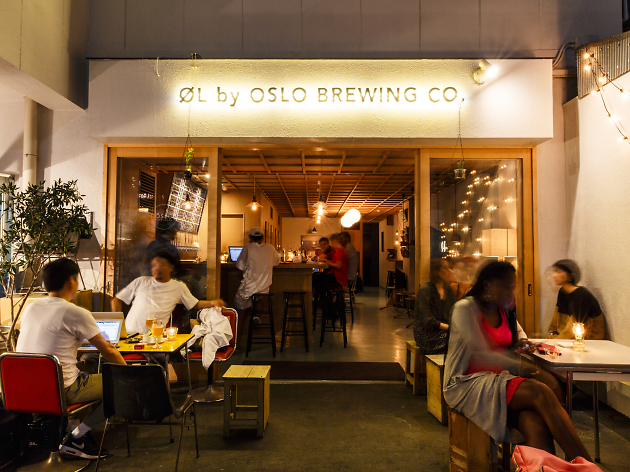 ØL TOKYO   A fusion bar of Japanese and Scandinavian craft beer and street culture, based in Tokyo.  Founding partner — Einar Kleppe Holthe  oltokyo.jp