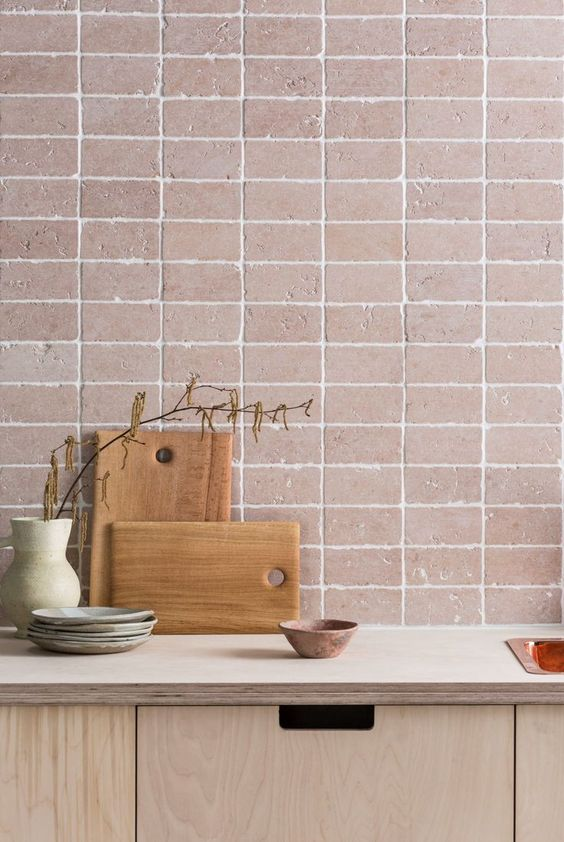 Texture combined with clean lines  can make a bigger impact than wall decor.