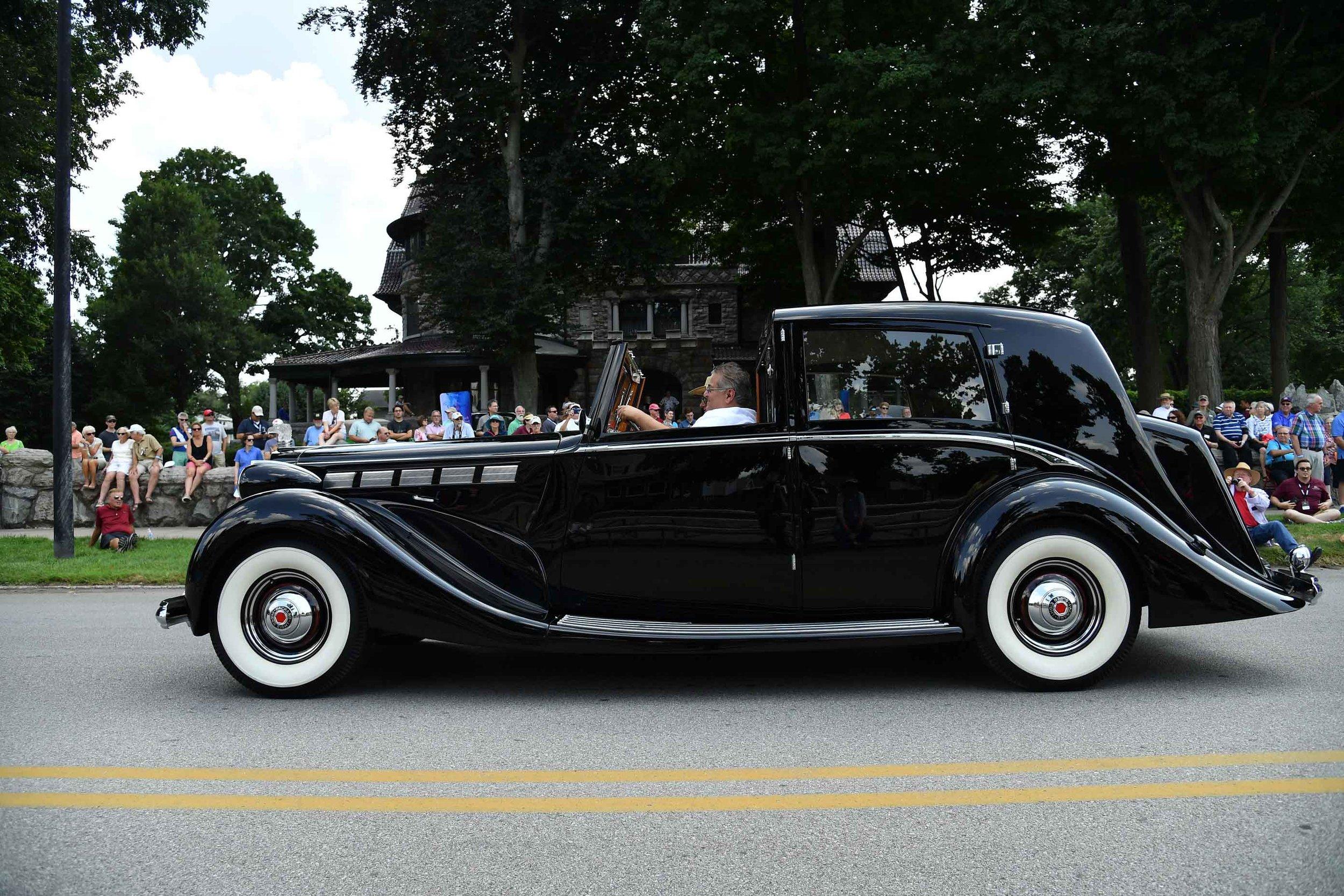 Colonel Jesse Vincent Award: Most Elegant Packard