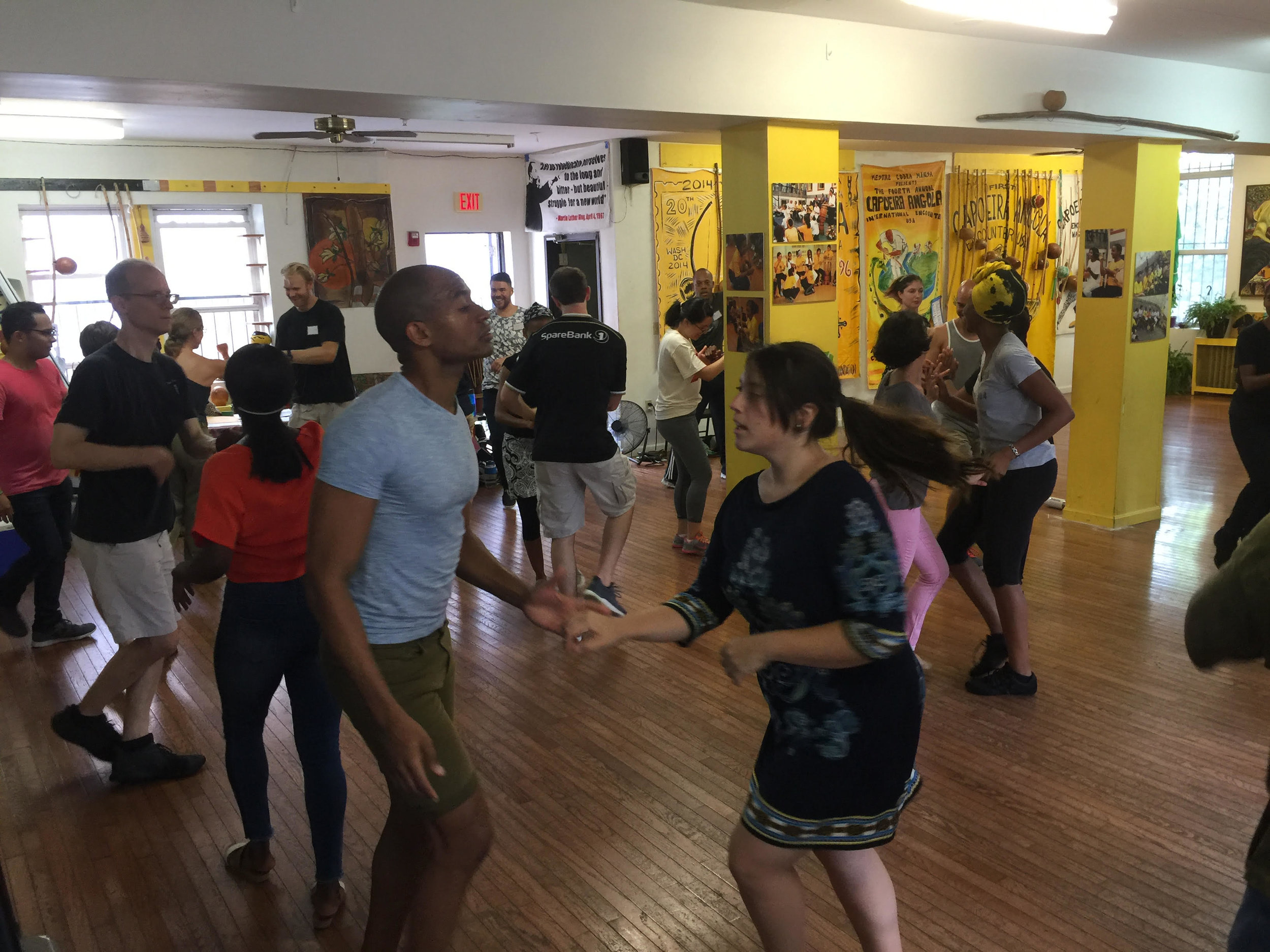 Cuban Salsa - 1-2:30pm all levels 2:30-3pm social dance break 3-4pm intermediate & advanceFICA Studio $10/classIG: DanceInTimeSalsa*free first class coupon available at www.danceintime.com