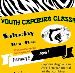 Capoeira KIDS - 9-10:30amLed by Fundação Internacional de Capoeira AngolaFICA Studio $10